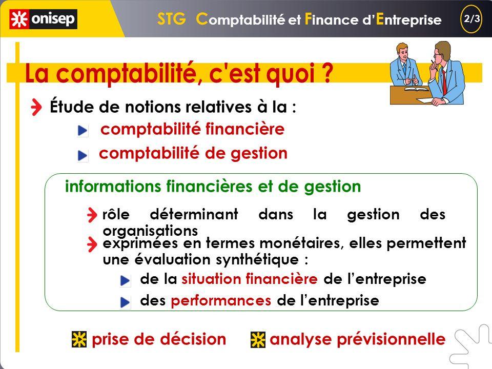 STG C omptabilité et F inance d E ntreprise tenue des comptes dune entreprise cela suppose une véritable connaissance : des méthodes délaboration des
