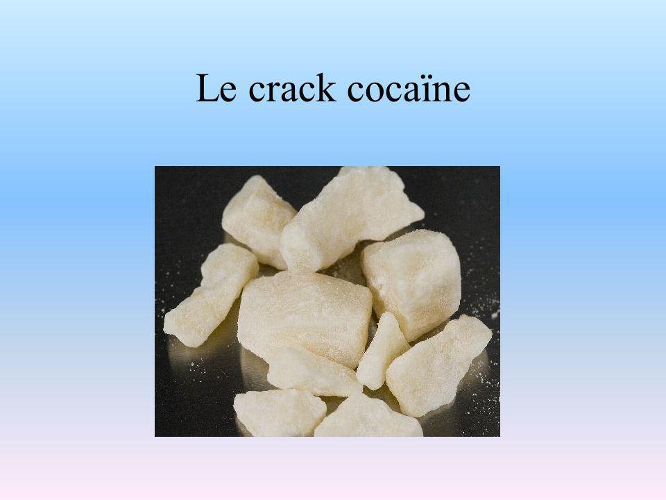 Le crack cocaïne