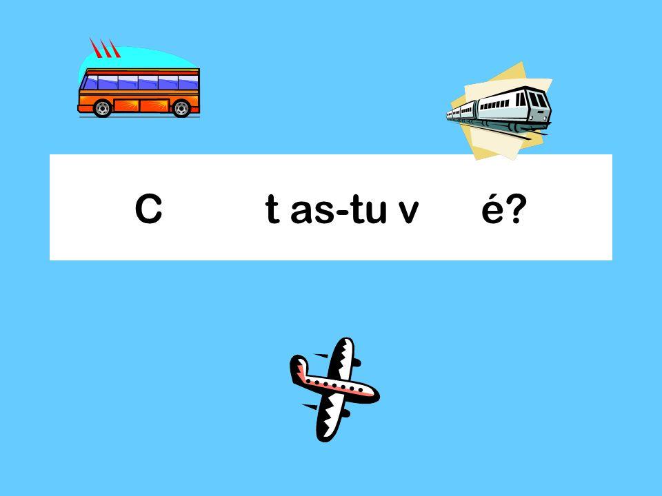 Je pense à un transport….