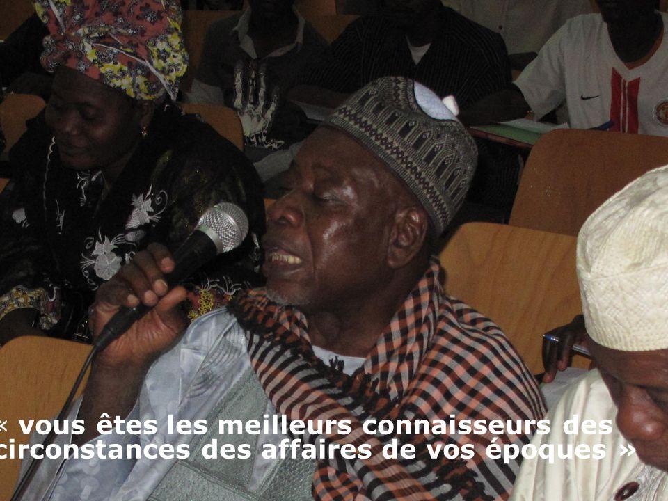 Les entraves à ladhésion des imams et ulémas à la lutte contre les MGF au Niger « vous êtes les meilleurs connaisseurs des circonstances des affaires de vos époques »