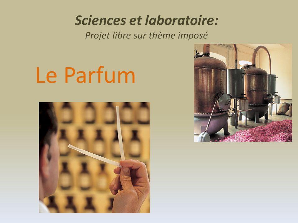 Sciences et laboratoire: Projet libre sur thème imposé Le Parfum