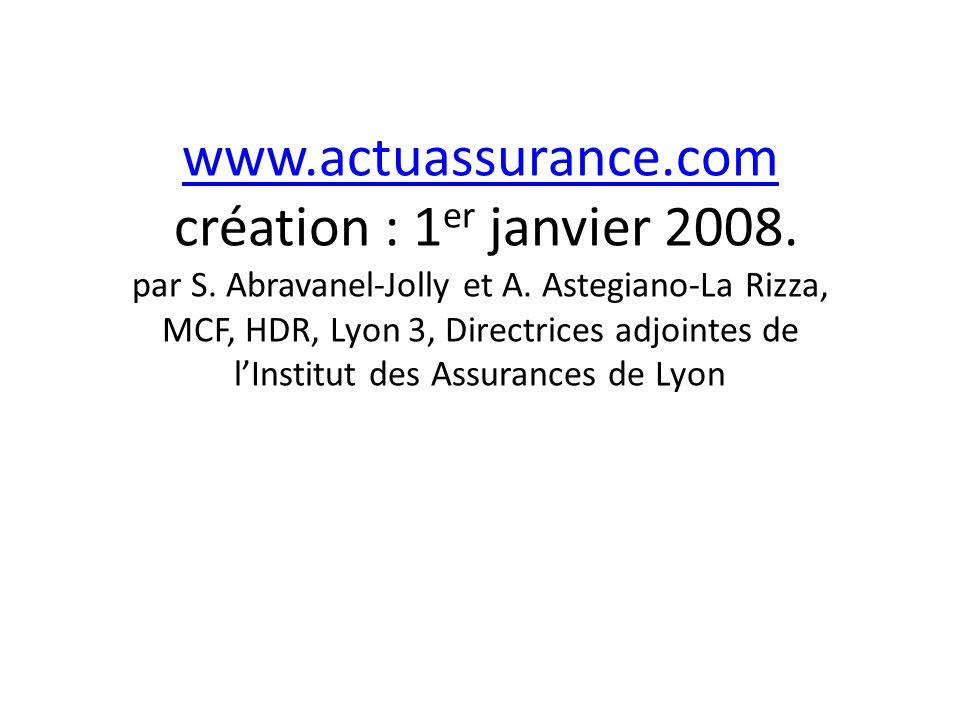 www.actuassurance.com www.actuassurance.com création : 1 er janvier 2008.