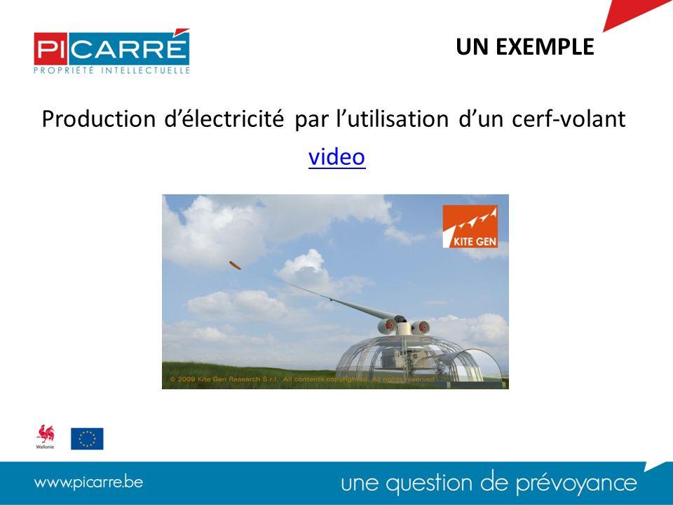 Production délectricité par lutilisation dun cerf-volant video UN EXEMPLE