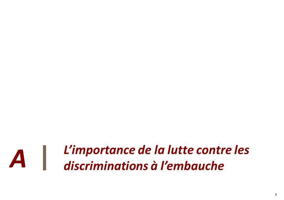 5 5 Limportance de la lutte contre les discriminations à lembauche A