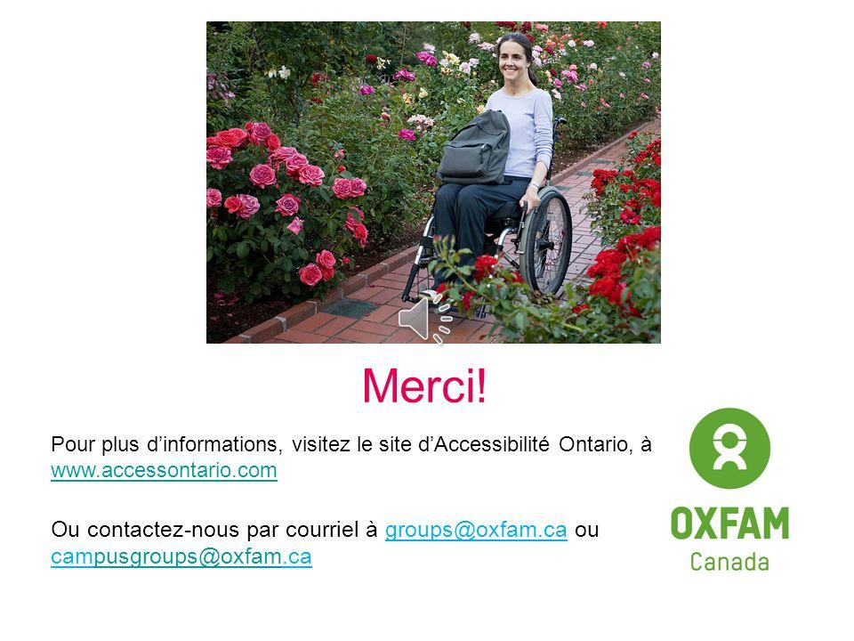 La politique de santé et de sécurité dOxfam Canada