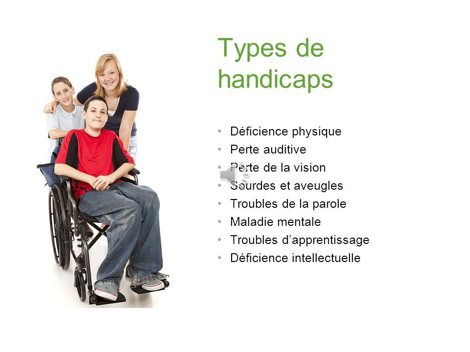 La loi de 2005 sur laccessibilité pour les personnes handicapées de lOntario La Norme daccessibilité pour les services à la clientèle sapplique à tout