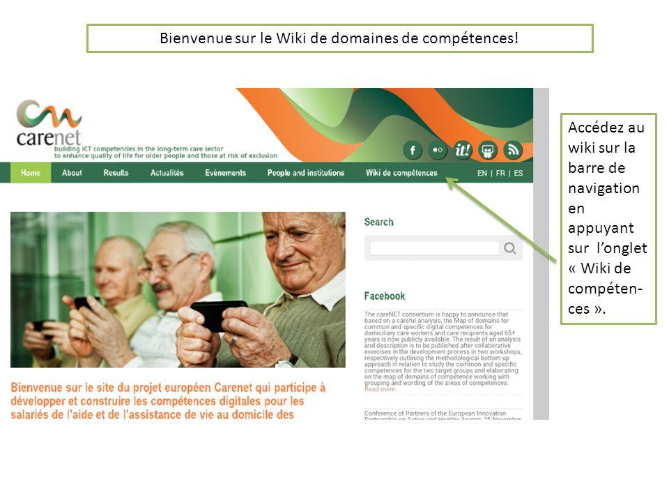 Bienvenue sur le Wiki de domaines de compétences.