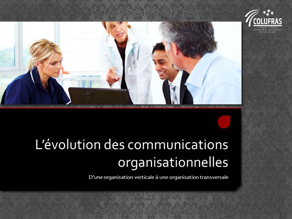 Lévolution des communications organisationnelles Dune organisation verticale à une organisation transversale