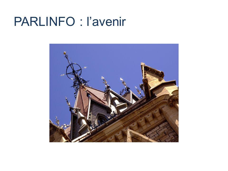 PARLINFO : lavenir
