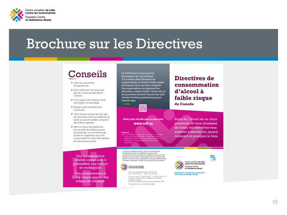 Brochure sur les Directives 10