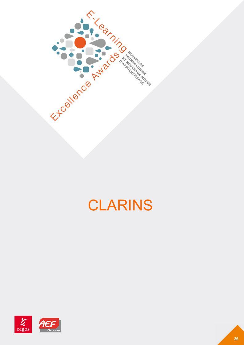 CLARINS 26