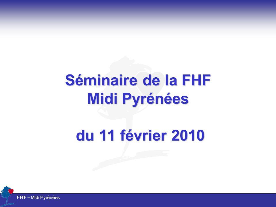 FHF – Midi Pyrénées Séminaire de la FHF Midi Pyrénées du 11 février 2010