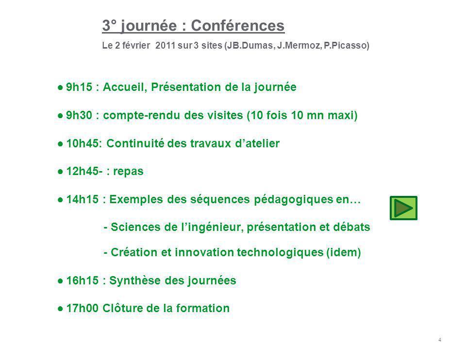 5 Exemples de séquences pédagogiques Thèmes présentés Site dAlès : Ph.