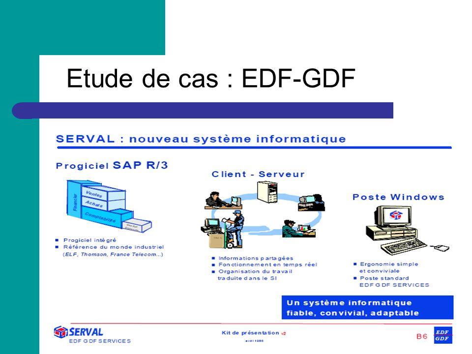 Etude de cas : EDF-GDF