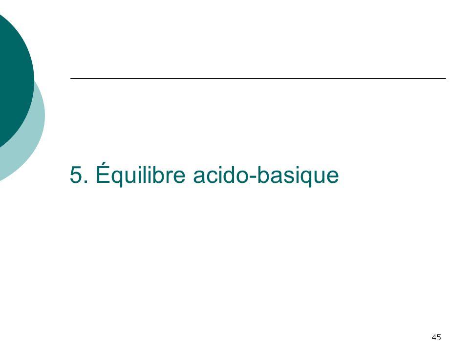 45 5. Équilibre acido-basique