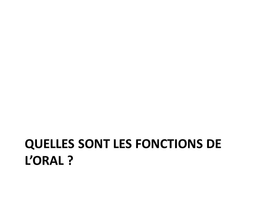 Trois fonctions de loral.