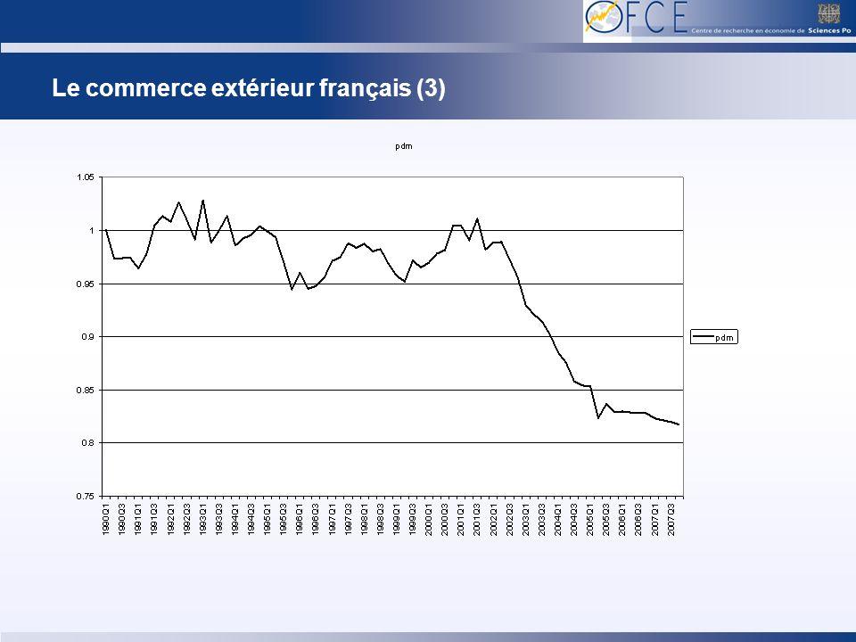 Le commerce extérieur français (4)