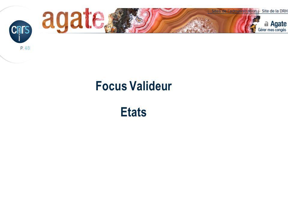 P. 48 Focus Valideur Etats