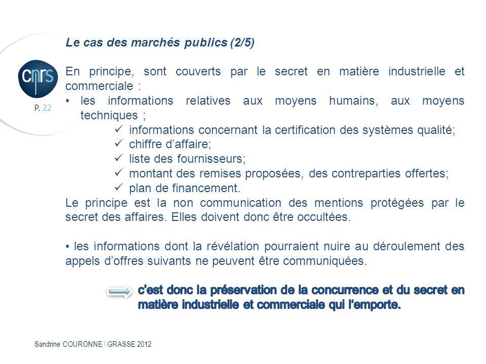 Sandrine COURONNE l GRASSE 2012 P. 22