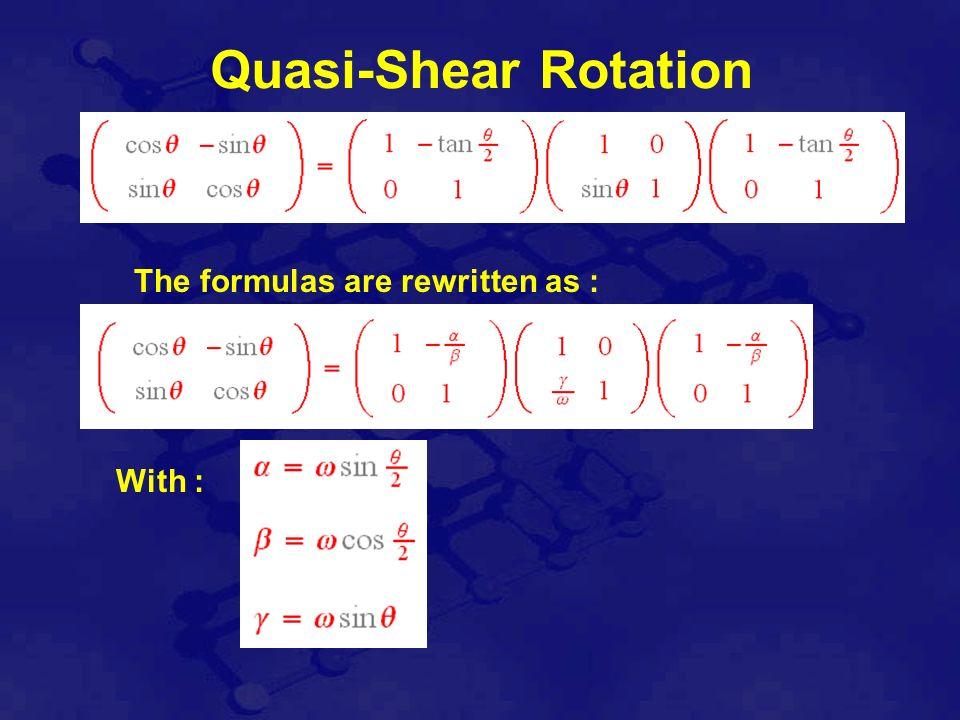Instabilité : discrétisation reconstruction On peut étudier les équivalences topologique à niveau de détail près et M.