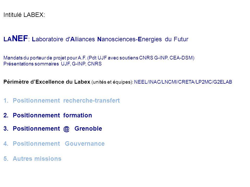 Grenoble CRYOPOLE Dans le cadre de GIANT, porteurs I.NEEL (UPR CNRS -UJF, G-INP), INAC (CEA – CNRS - UJF) Axes de développement et Mots clés : Cryogén
