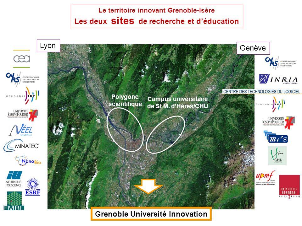 synergies nouvelles sur le site de Grenoble ce sont des enjeux aussi pour LA NEF à réussir au sein de Grenoble Université Innovation Giant: centre Int