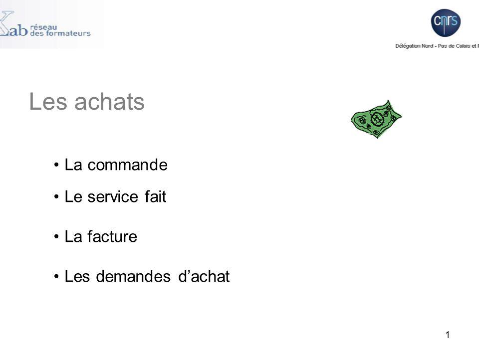 Saisie dune commande dans Xlab Dans le menu Xlab vous devez aller dans : Dossier Gestion courante Dépense Commande 2
