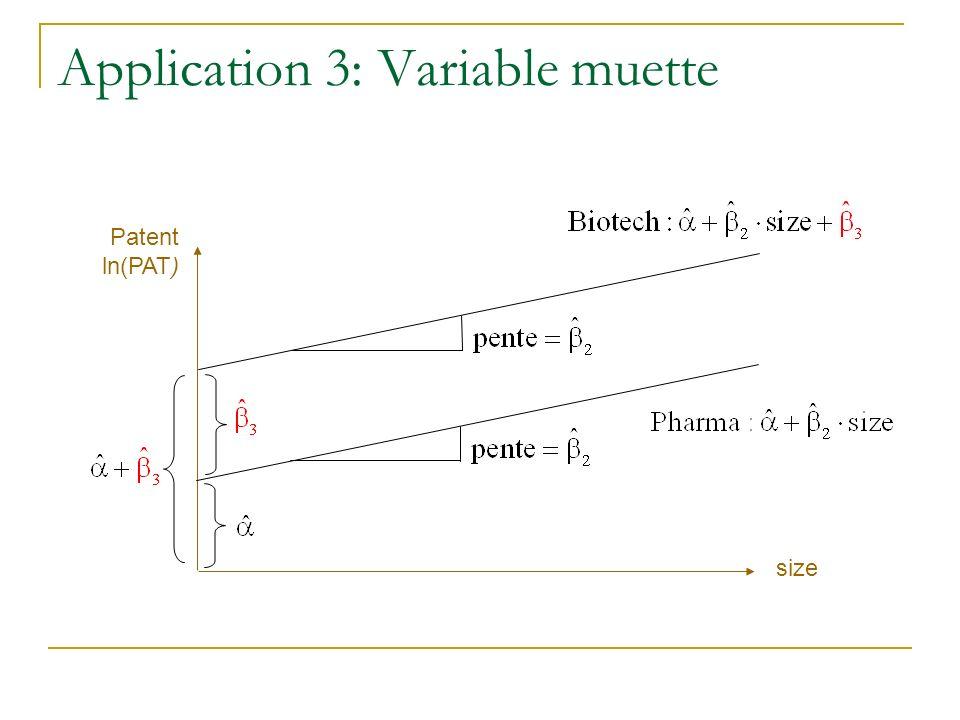 Patent ln(PAT) size