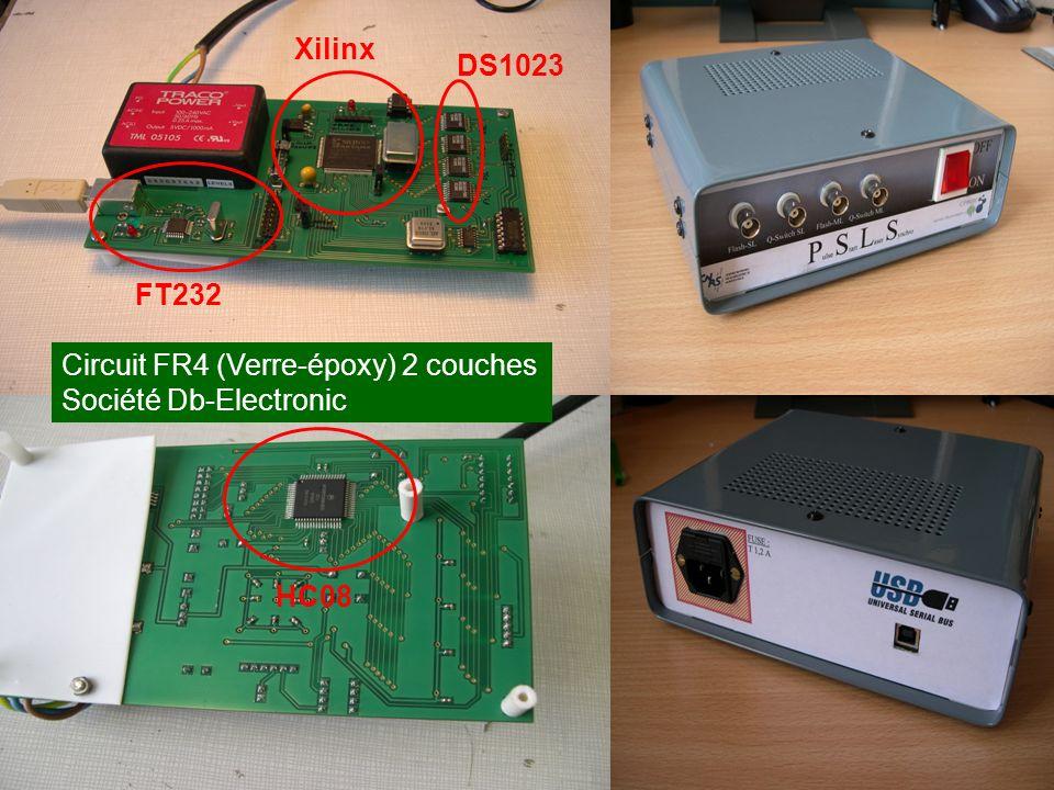 FT232 Xilinx DS1023 HC08 Circuit FR4 (Verre-époxy) 2 couches Société Db-Electronic