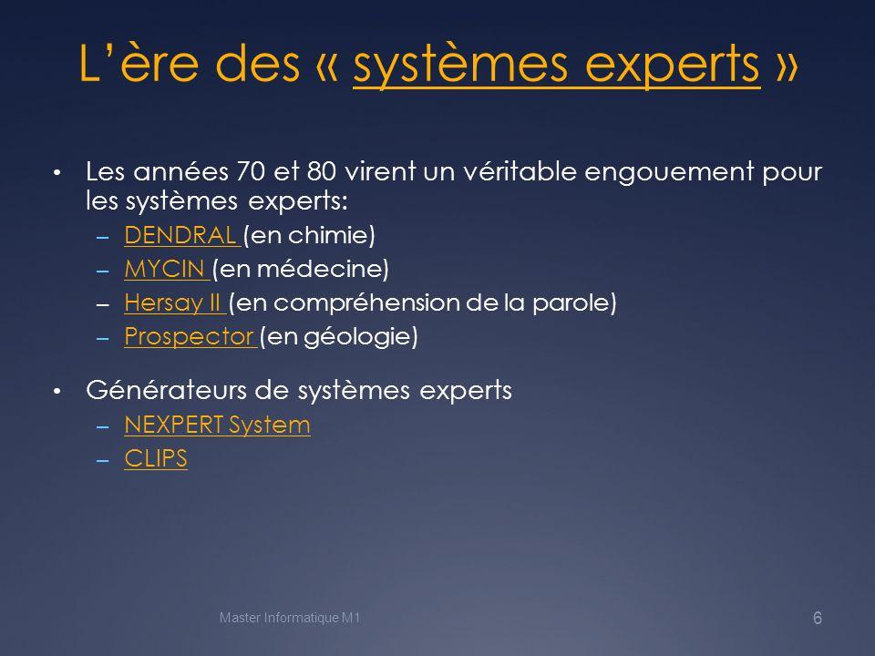 Langages de programmation pour lIA .LISP (origine américaine) LISP PROLOG (France .