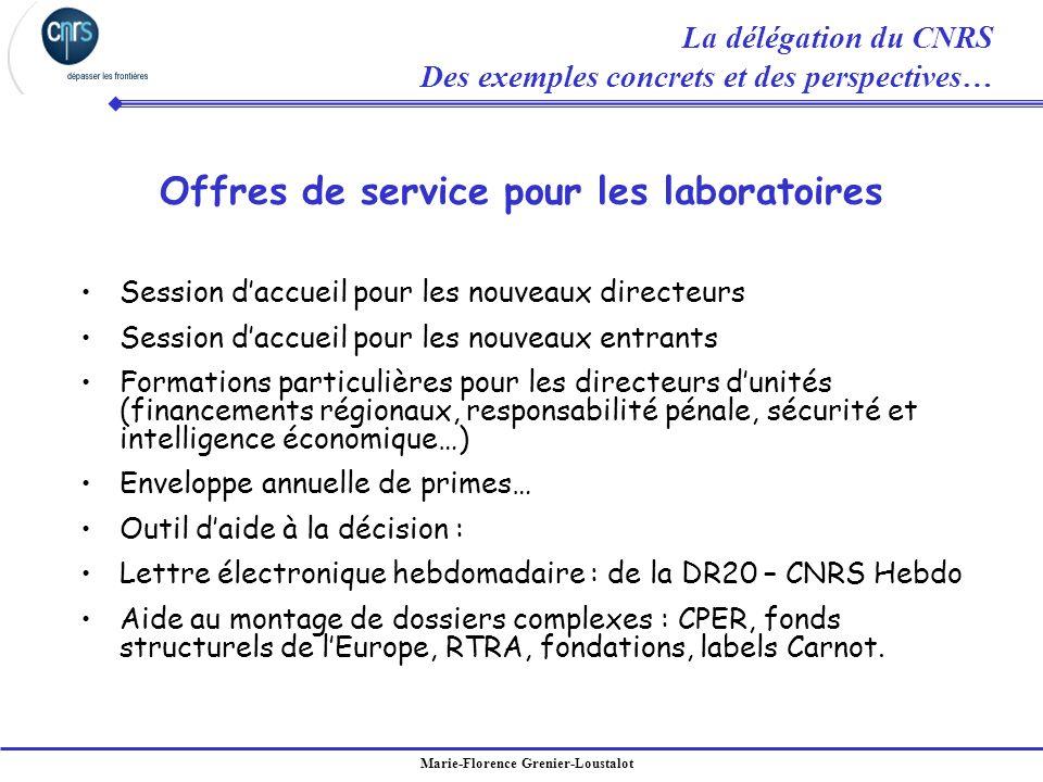Marie-Florence Grenier-Loustalot Session daccueil pour les nouveaux directeurs Session daccueil pour les nouveaux entrants Formations particulières po