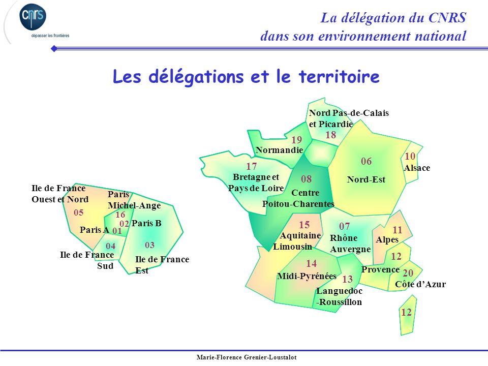 Marie-Florence Grenier-Loustalot Paris Michel-Ange Paris B Paris A Ile de France Ouest et Nord Ile de France Sud Ile de France Est 01 03 02 16 04 05 N