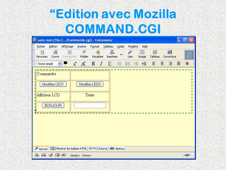 Edition avec Mozilla COMMAND.CGI