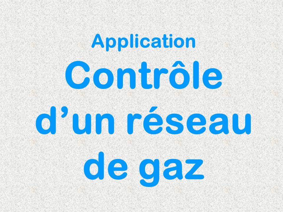 Application Contrôle dun réseau de gaz