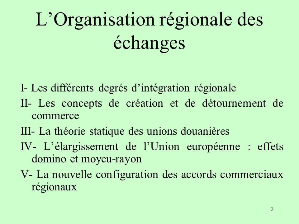 1 LOrganisation régionale des échanges J. Trotignon 2011-2012