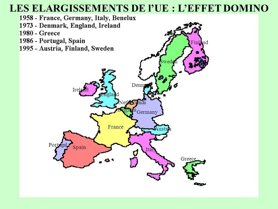 52 E GR IR L FIN IS AELE-7 CEE-6 N S P CH A UK I D F B L NL DK 1960 : la cohabitation de deux ensembles régionaux en Europe occidentale