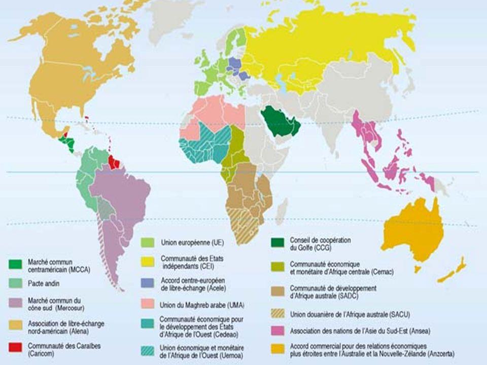 79 Les exportations intra-régionales sud-sud sont en général plus intensives en produits manufacturés que les exportations vers le reste du monde Composition et direction des exportations, régions sélectionnées, 2003-2005