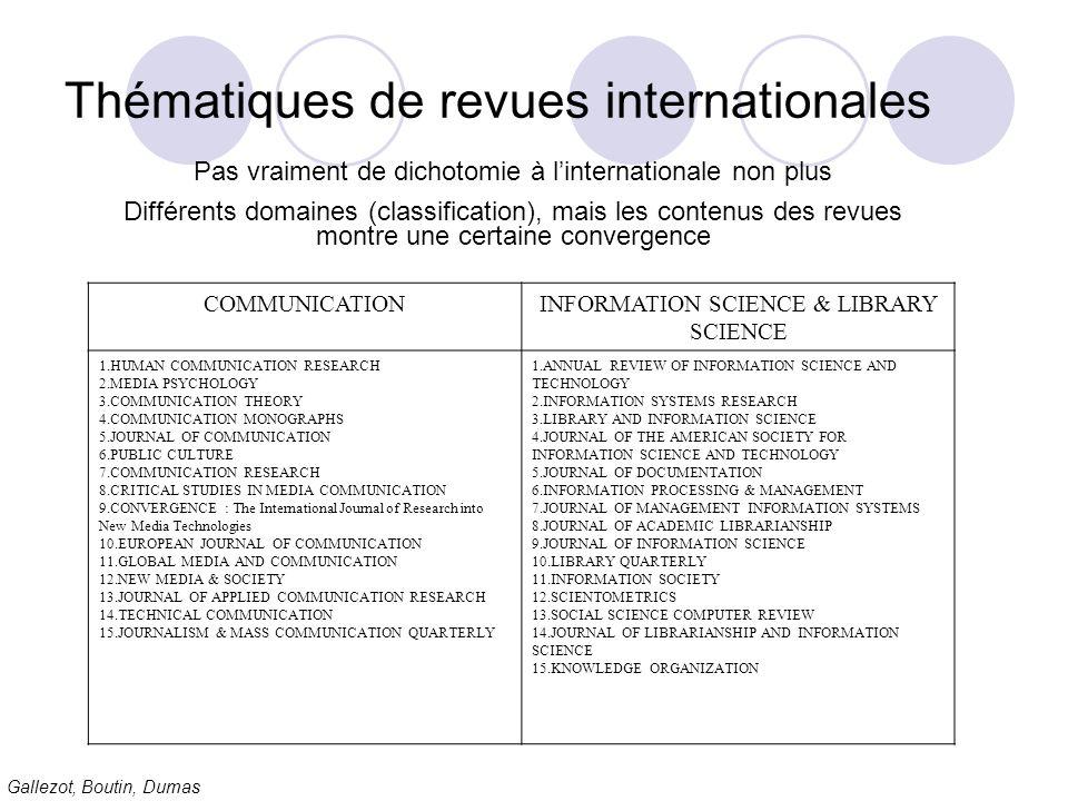 Gallezot, Boutin, Dumas Comment qualifier notre « ET » .