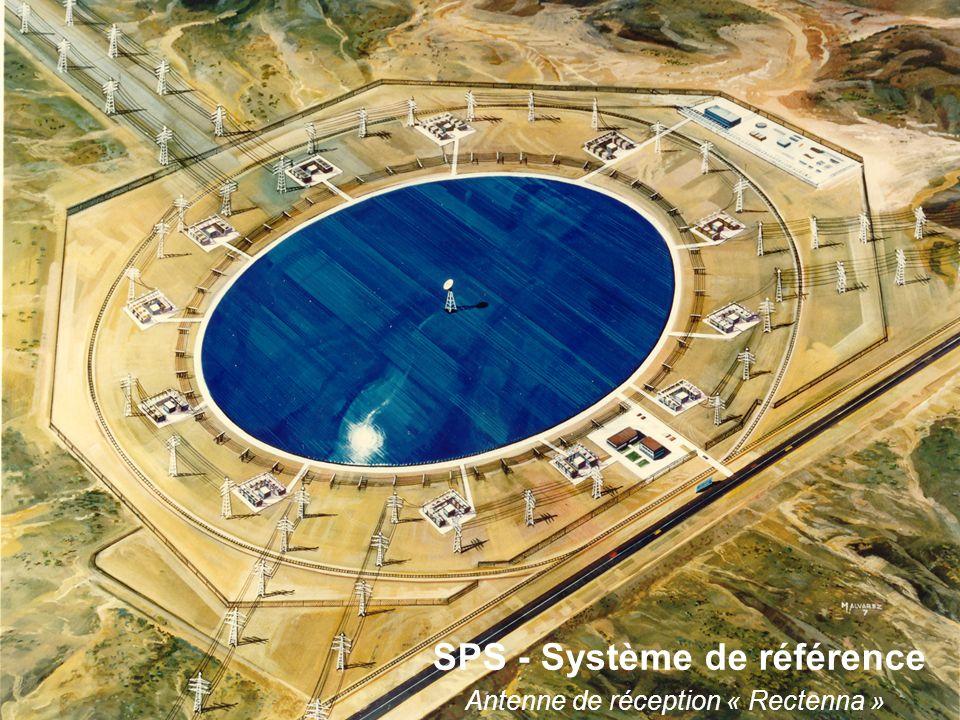 SPS - Système de référence Antenne de réception « Rectenna »