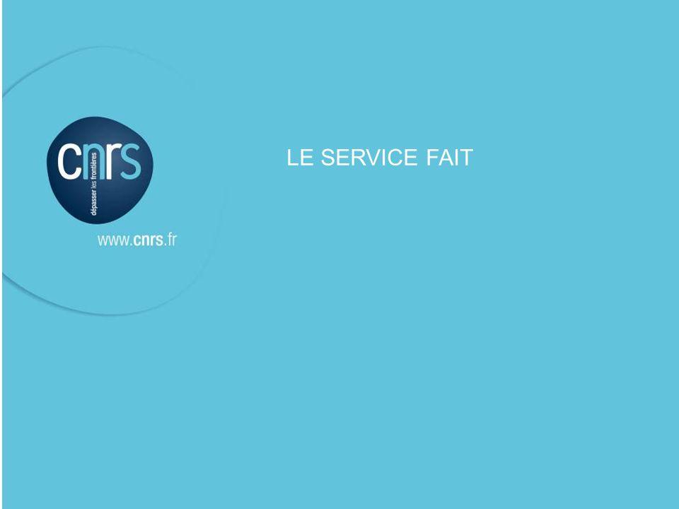LE SERVICE FAIT