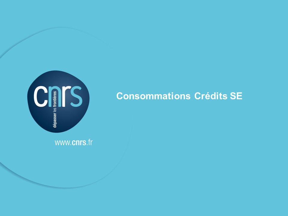 38 Consommations Crédits SE