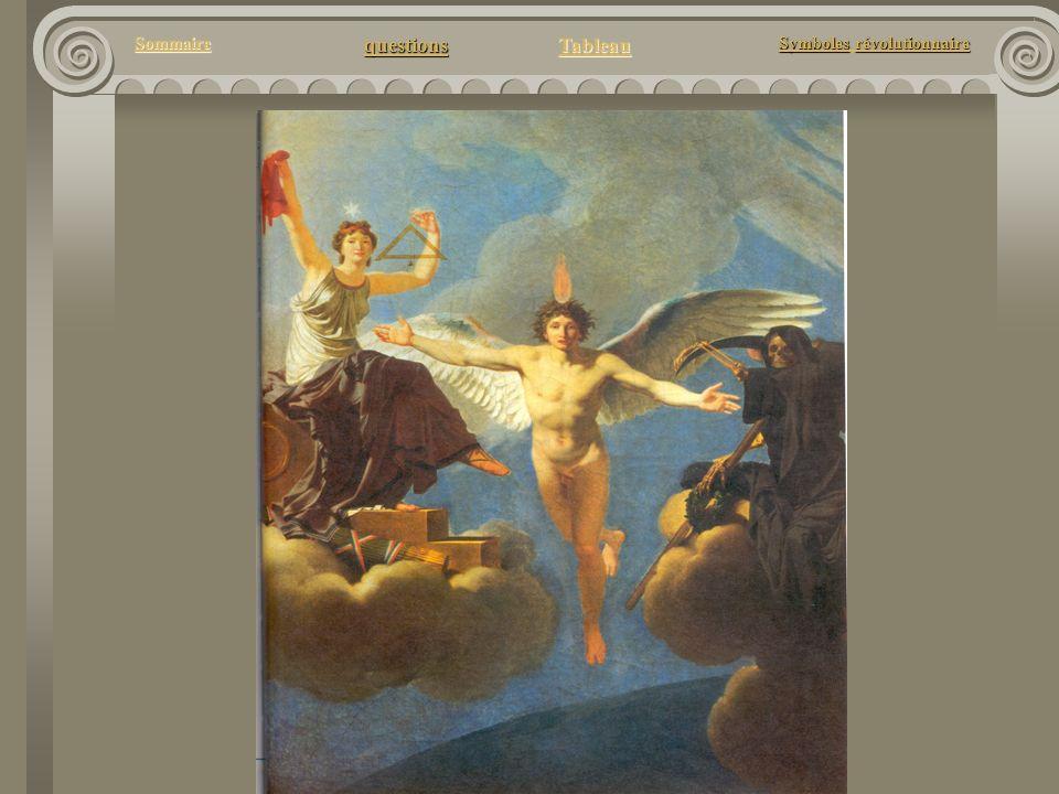 questions Tableau Sommaire Symbolesrévolutionnaire Symboles révolutionnaire Quel est donc le message de ce tableau ?