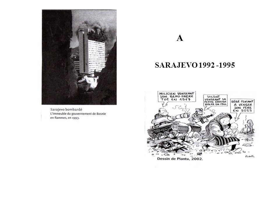 SARAJEVO 1992 -1995 A