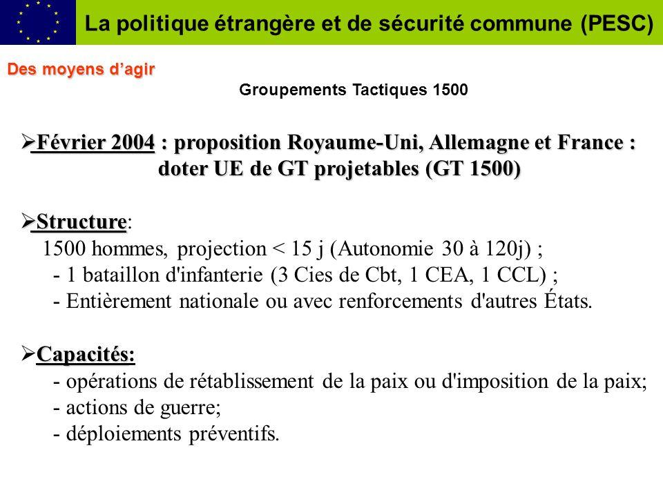 Février 2004 : proposition Royaume-Uni, Allemagne et France : Février 2004 : proposition Royaume-Uni, Allemagne et France : doter UE deGT projetables