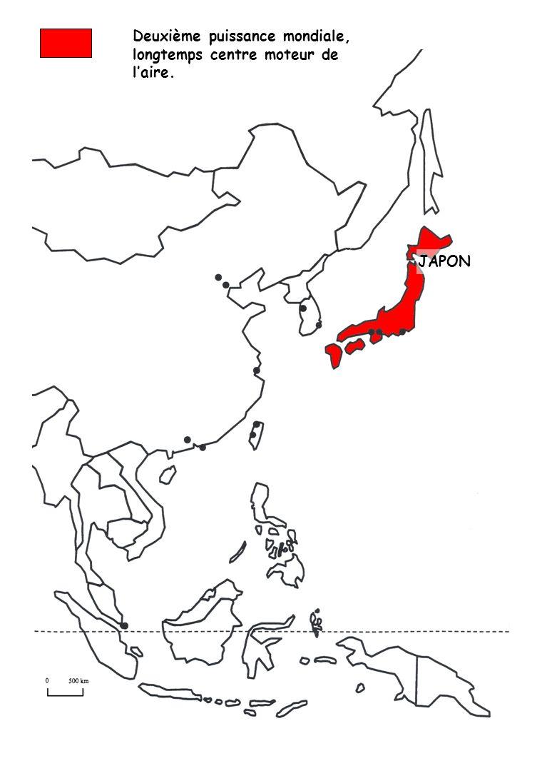 Deuxième puissance mondiale, longtemps centre moteur de laire. JAPON