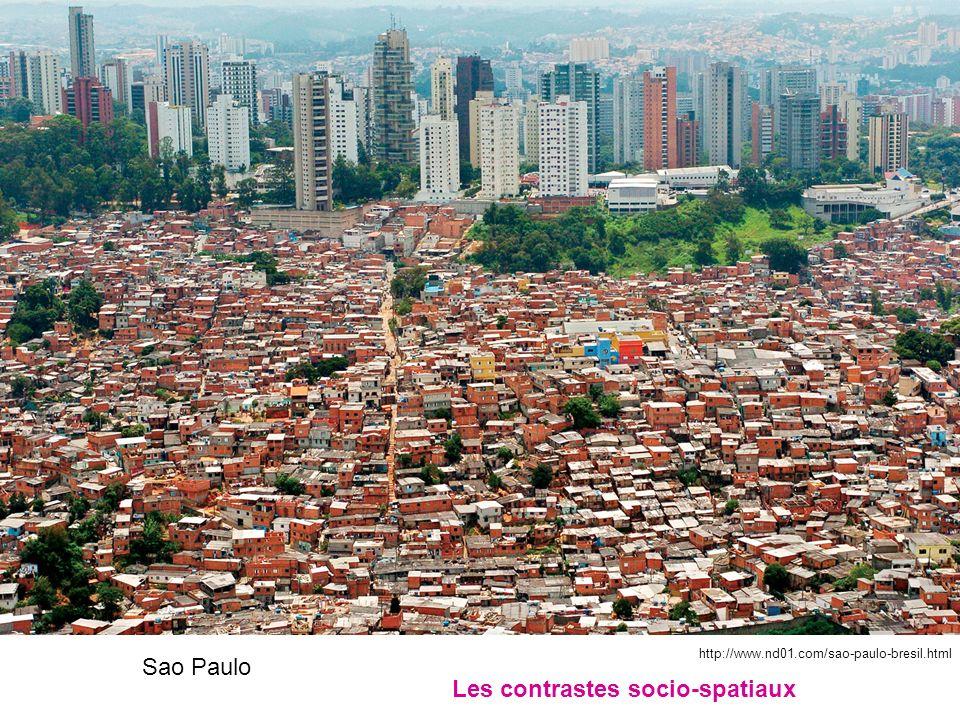 Sao Paulo Les contrastes socio-spatiaux http://www.nd01.com/sao-paulo-bresil.html