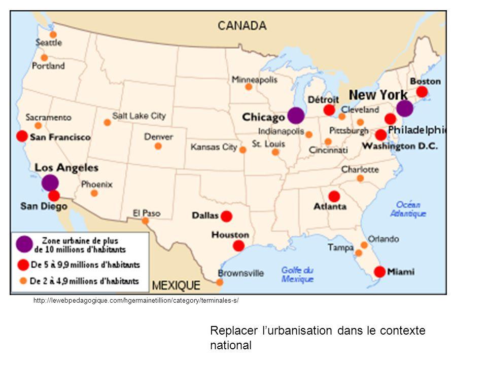Replacer lurbanisation dans le contexte national http://lewebpedagogique.com/hgermainetillion/category/terminales-s/
