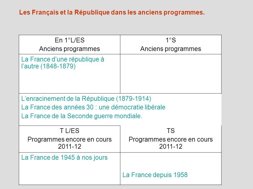 1880-1900 Lenracinement de la culture républicaine chez les Français.