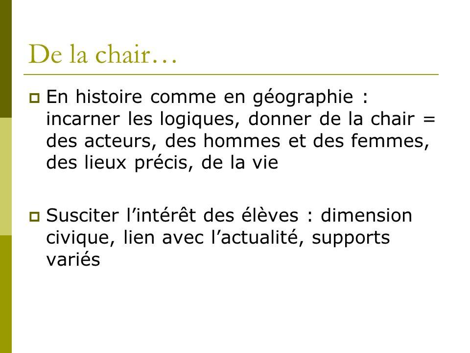 Présentation des nouveaux programmes de Quatrième Géographie Académie de Bordeaux