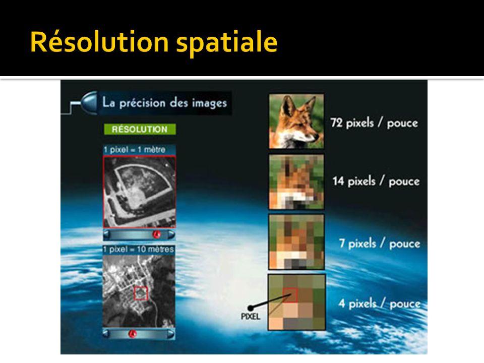 La visualisation des images numériques Consiste à associer un niveau de gris ou une couleur à chaque valeur de pixel.